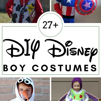 27 DIY Disney Boy Costumes