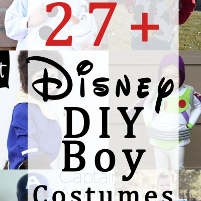 27 Disney DIY Costumes for Boys