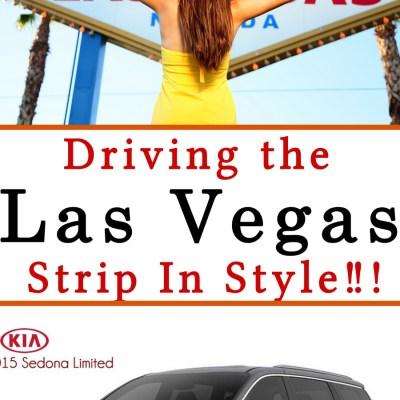 Driving Las Vegas In Style With the 2015 Kia Sedona!