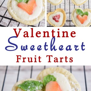 Sweetheart Fruit Tart