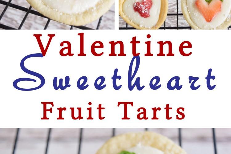 Sweetheart Fruit Tart