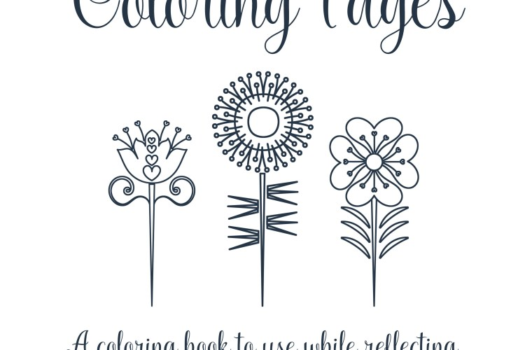 Young Women Values Coloring Pages