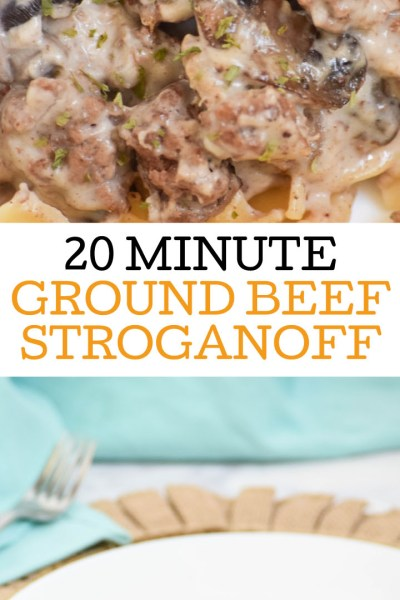 Easy Beef Stroganoff and Winder Farms-The Perfect Pair