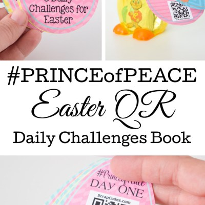 Young Women or Relief Society Prince of Peace Easter Daily Challenge Booklet