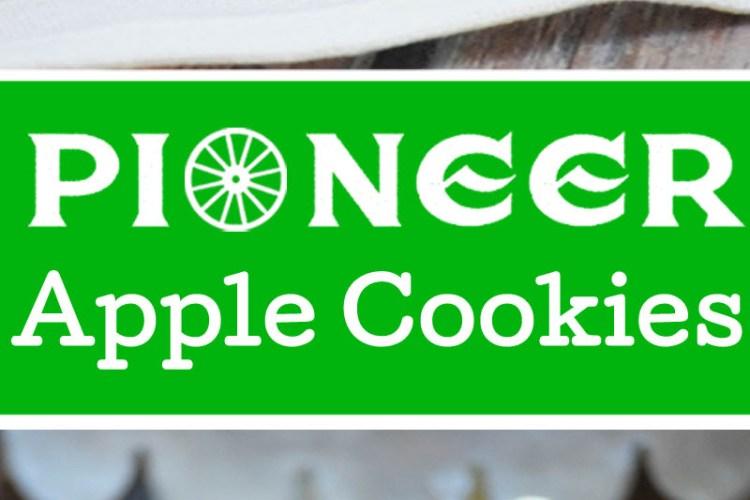 Pioneer Apple Cookies