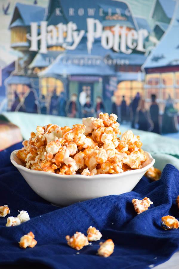 Harry Potter Butterbeer Popcorn