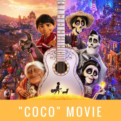 Disney/Pixar Coco Movie Coloring Pages