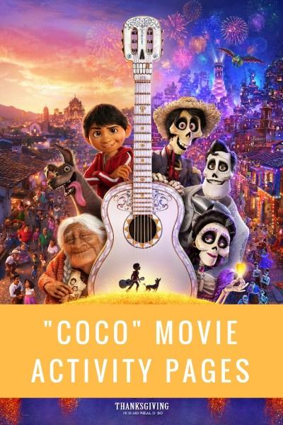 Disney/Pixar Coco Movie Coloring Pages