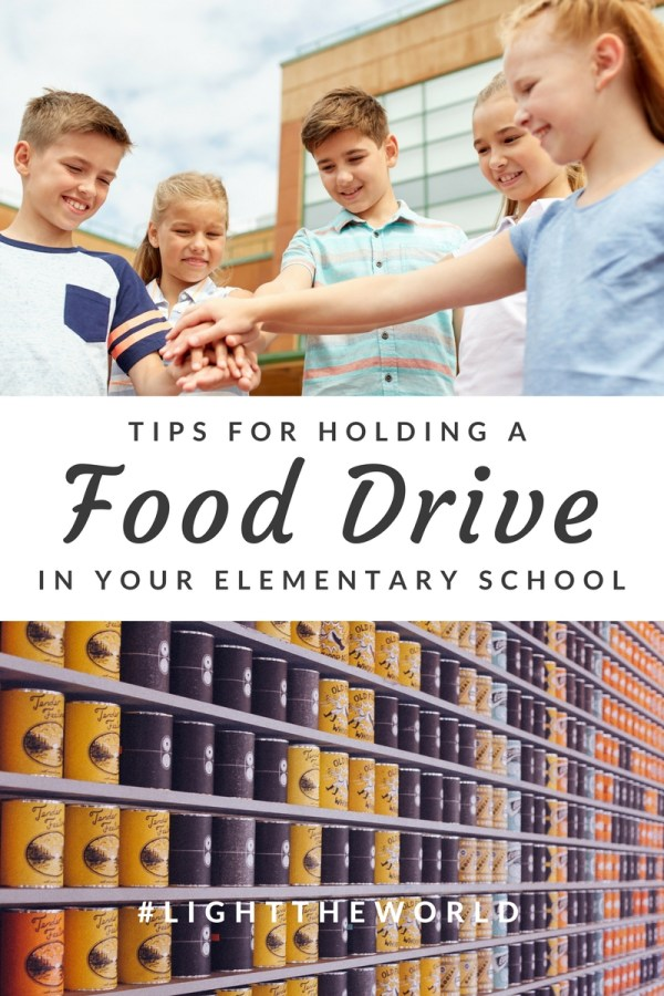 Tips to Organize A Food Drive in Your Elementary School