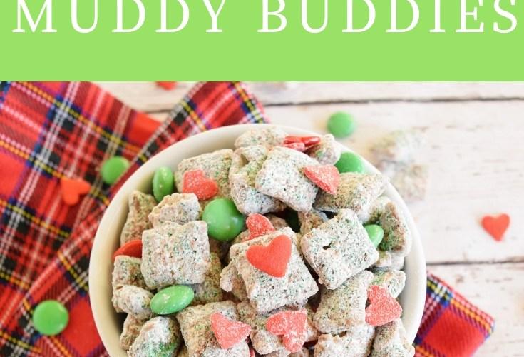 The Grinch Muddy Buddies