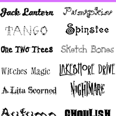 The Best Free Halloween Fonts