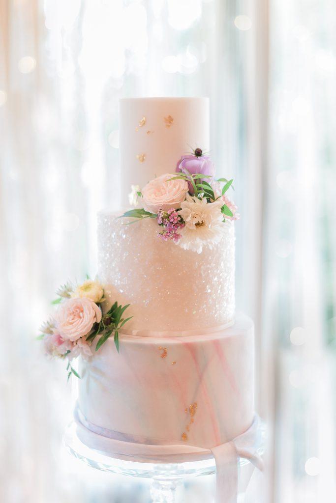 Unicorn Inspired Wedding Cake
