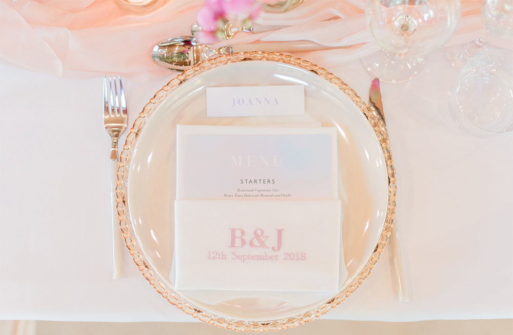 Unicorn Inspired Wedding Table Setting |Luminescent Glassware. Styled by Your Fabulous Wedding