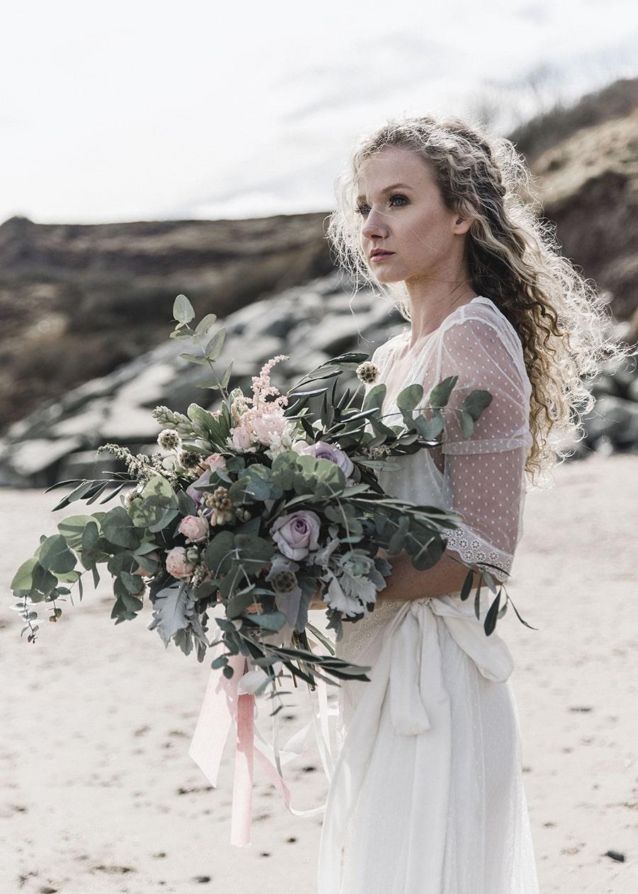 Stunning Bouquet for Boho Beach Wedding