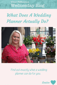 What does a wedding planner actually do?