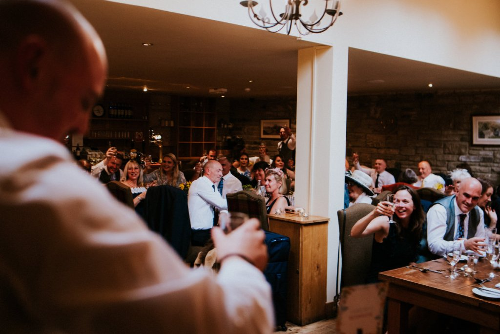 A Toast During Wedding Speeches