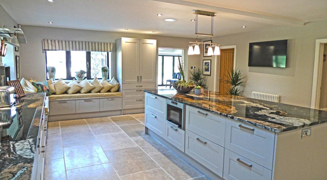 Kitchen at Woodland Lodge