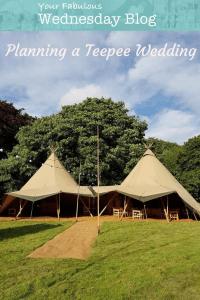 Planning a Teepee Wedding