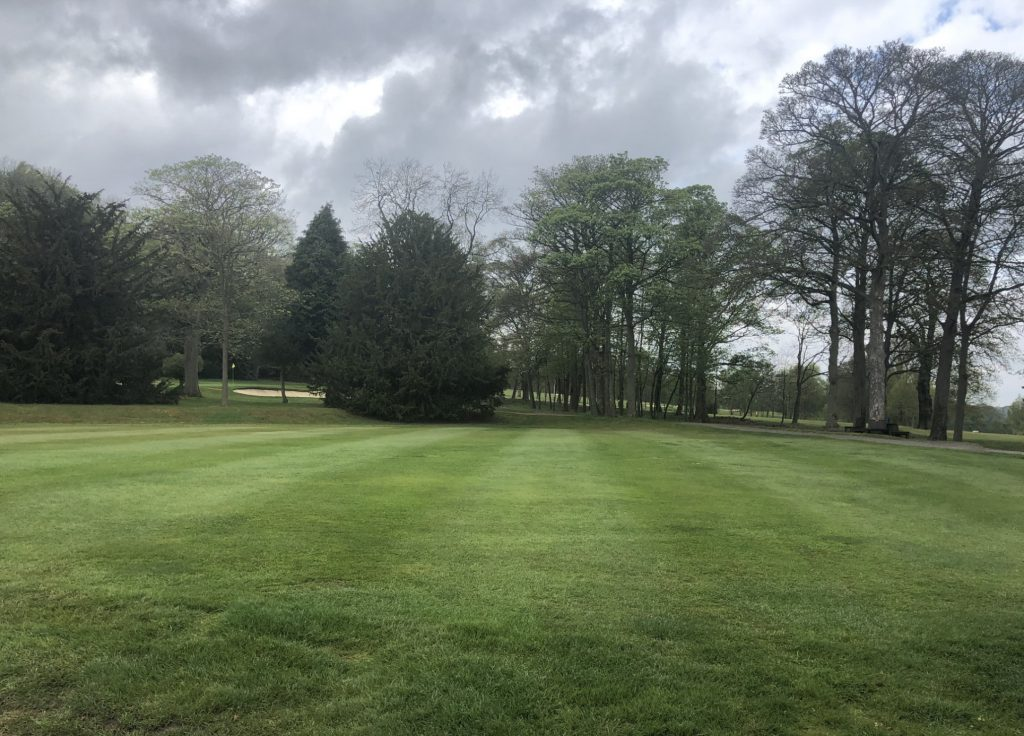 Marquee Lawn at Woodsome Hall, West Yorkshire Wedding Venue