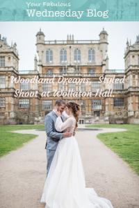 Woodland Dreams. Styled Shoot at Wollaton Hall