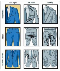 Wedding suit Fit guide