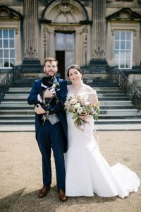 Pete & Emma with Leeroy the Pug