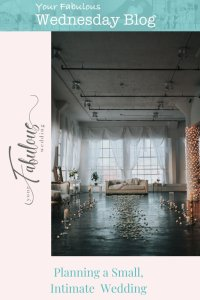 Planning a Small, Intimate Wedding