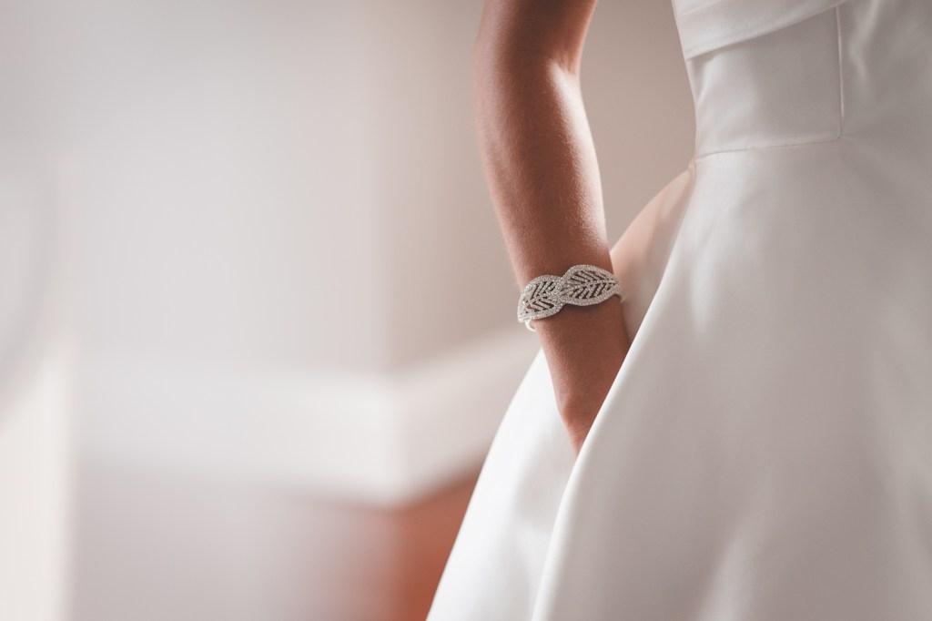 Stunning wedding bracelet