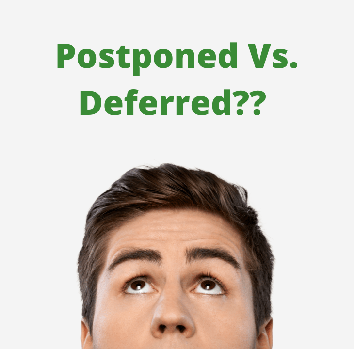 The FERS Postponed vs Deferred Retirement
