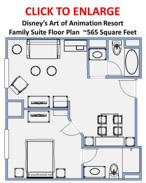 Family Suites at Disney\'s Art of Animation Resort a Review ...
