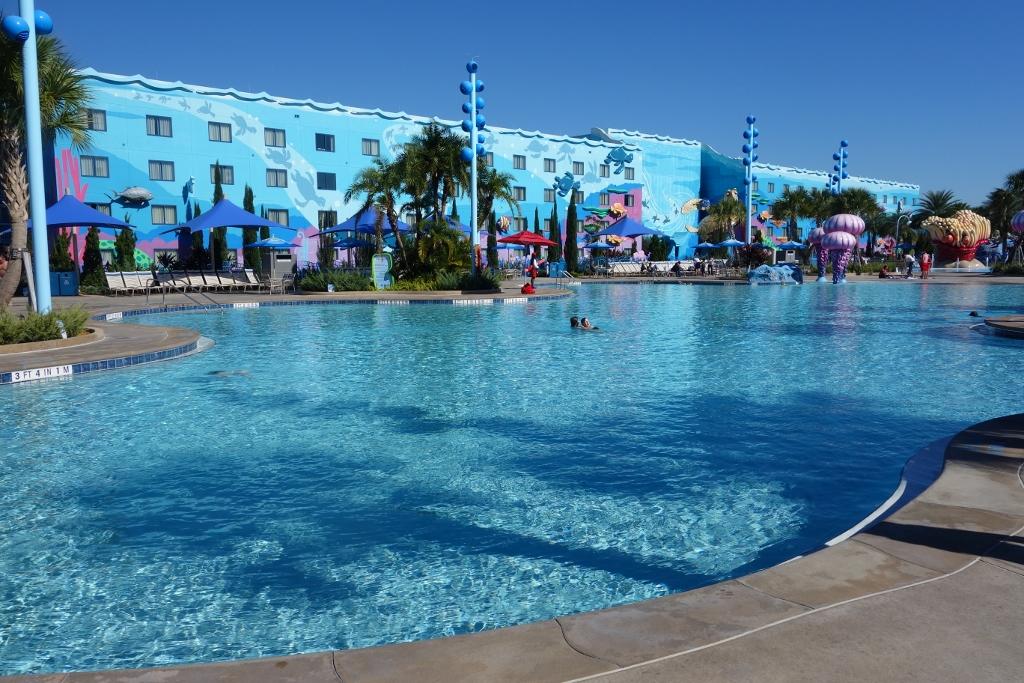 Art Resort Animation Pool