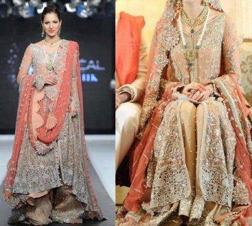 Bridal Sharara Designs For Indian & Pakistani Women 7