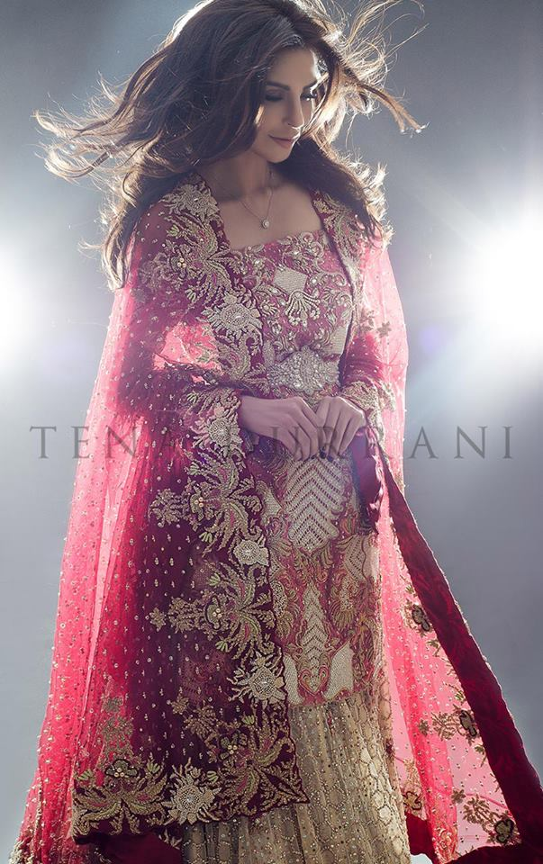 Teena Durrani Omorose Elegant Bridal Collection 2016