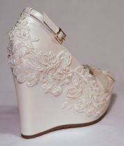 Wedding Wedge Shoes Styles To Try This Season 9