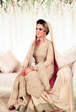 White Bridal Dresses For Pakistani Brides In 2016 8