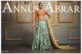 Annus Abrar Traditional Bridal Collection 2016 3