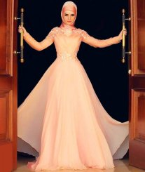 Bridal Hijab Dresses Every Muslim Bride Should Check Out 3