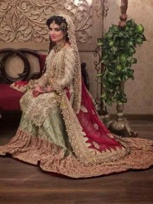 Bridal Lehenga Pakistani Wedding Wear In 2016 4