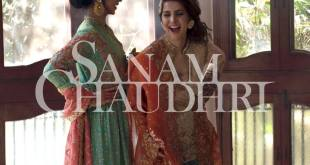Sanam Chaudhri Summer Bridal Collection 2016
