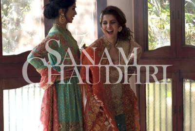 Sanam Chaudhri Summer Bridal Collection 2016
