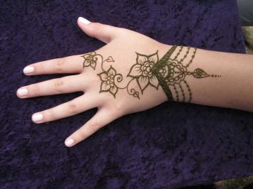 Bridal Eid Mehndi Designs For Summer Events 3