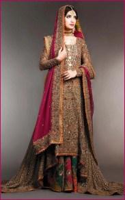 Bridal Sharara Party Wear Dress For Summer Season 3