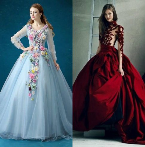 Wedding Bowl Gowns For This Summer Season