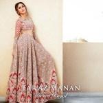 Faraz Manan Bridal Lehenga Designs 2016