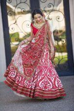 Modern Indian Lehanga Designs In Red Color 2