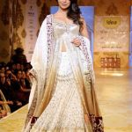 White Jeweled Bridal Formal lehanga