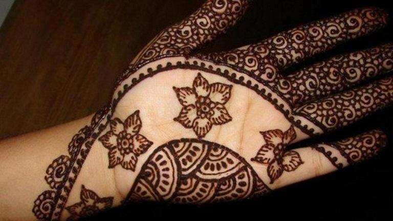 Fall Mehndi Designs