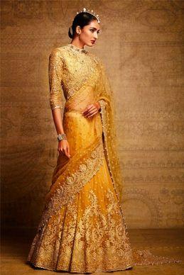 Luxury Colors Indian Lehenga Dresses For Brides 2016-17