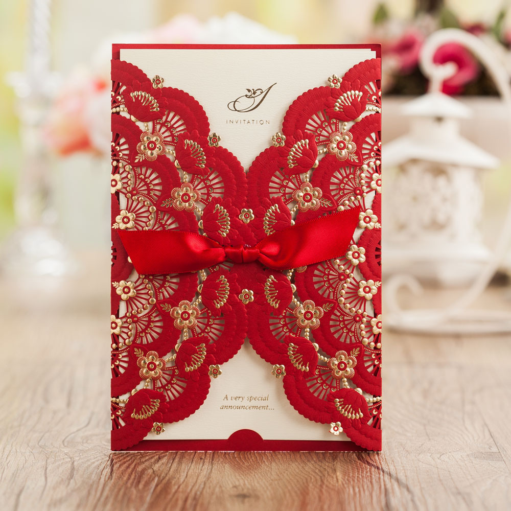 Wedding Card Designs Ideas: Laser Cut Wedding Invitations Card New Designs For This Season