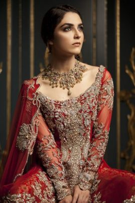 Ammara Khan Luxury Bridal Dresses Winter Collection 2017 6